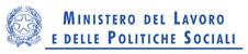 Patrocinio del Ministero del Lavoro e delle Politiche Sociali