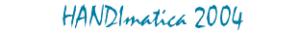 Logo Handimatica 2004