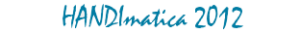 Logo Handimatica 2012