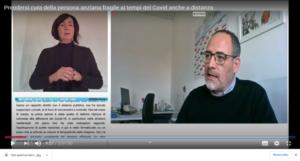 Luigi Mazza – Regione Emilia-Romagna e l'interpretariato dei segni in LIS e la messa in testo del parlato del relatore