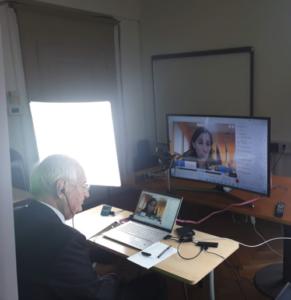Il Presidente Franco Bernardi e la Vicepresidente RER Elly Schlein
